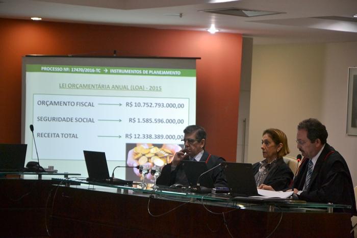 Gilbero Jales relatou contas do Governo Robinson