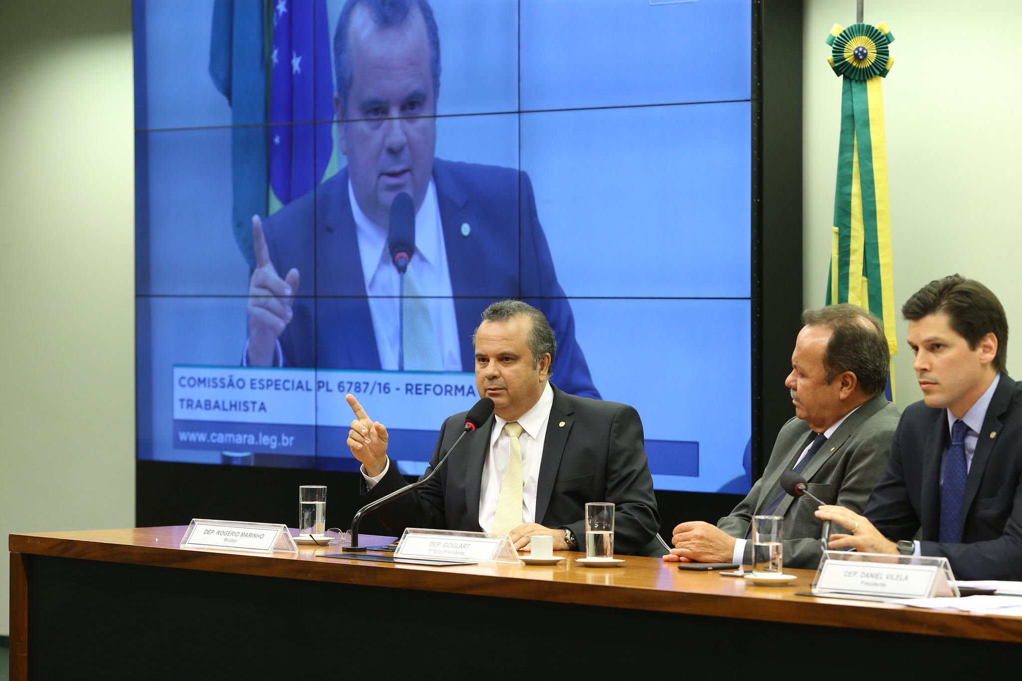 Rogério na comissão da reforma trabalhista_foto Alexssandro Loyola