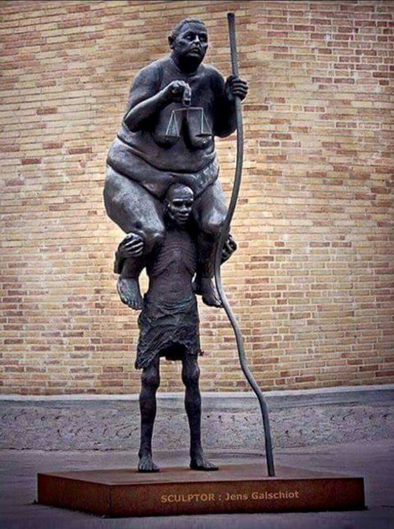 Justiça é um peso que a sociedade desconhece