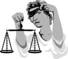 Justiça NÃO é cega