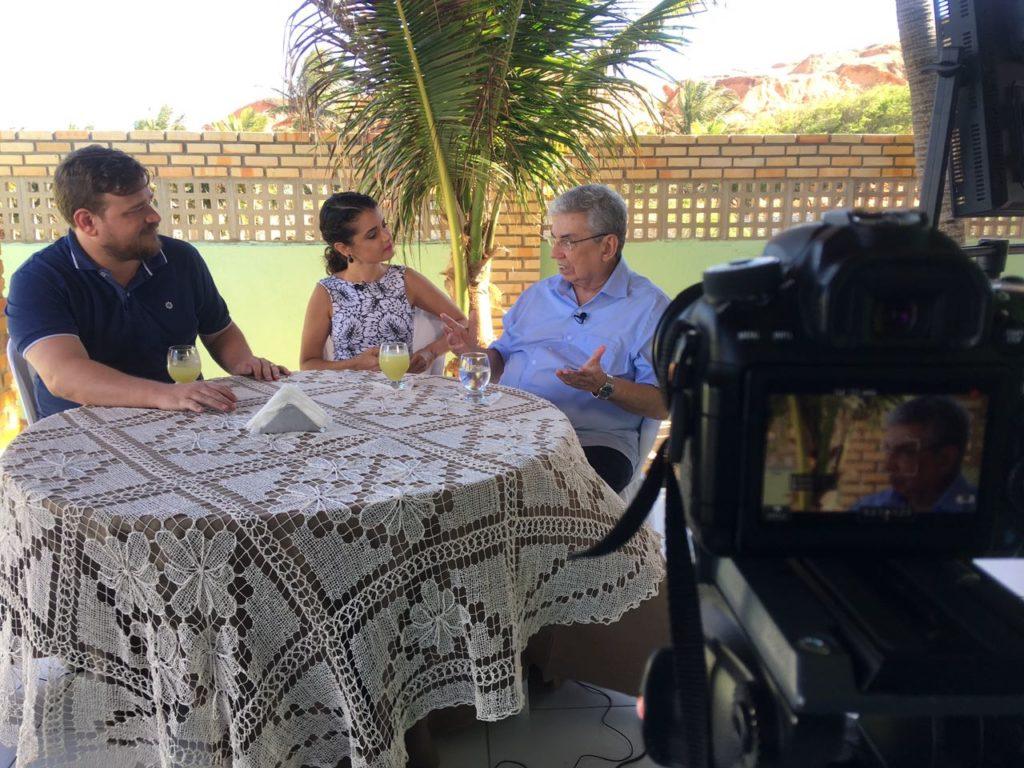 Bruno Barreto Carol Ribeiro e Garibaldi Alves