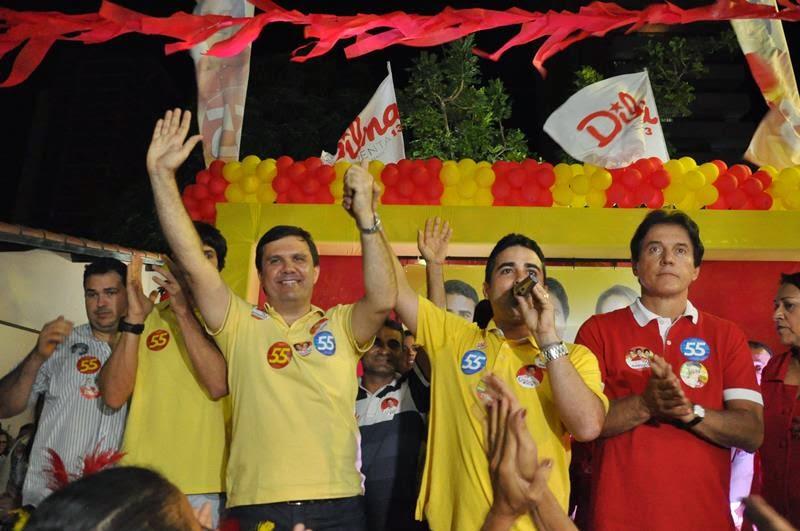 """Francisco José Junior no auge da popularidade prometendo que Galeno seria o """"deputado de Mossoró"""""""