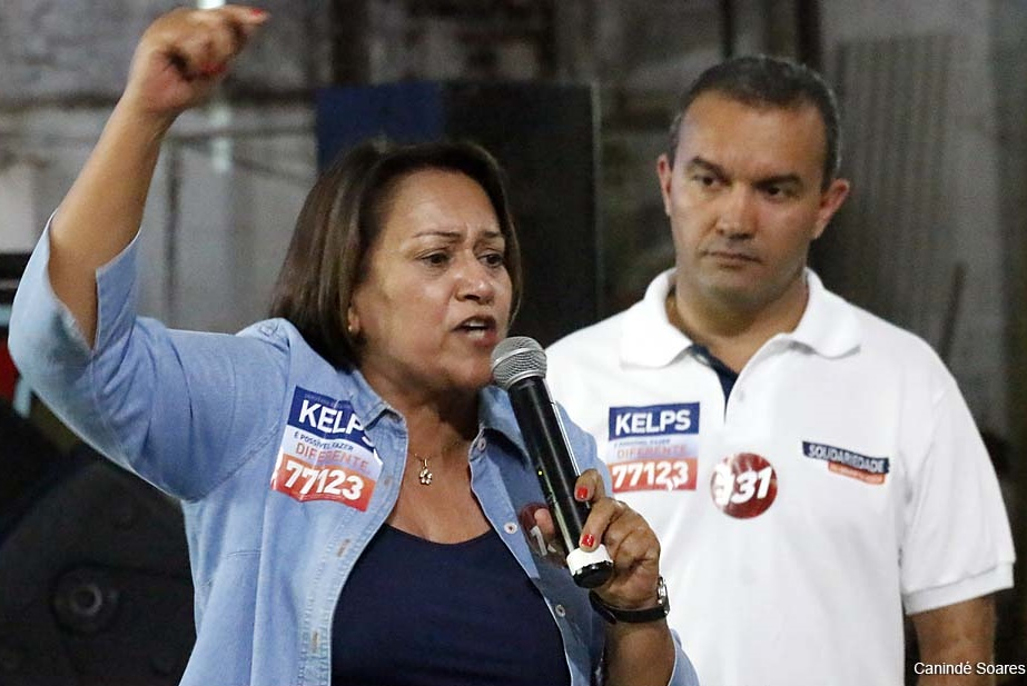 Fátima é alvo de críticas de Kelps que a apoiou em 2014