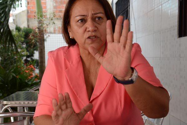 Fátima admite candidatura ao Governo (Foto: Tribuna do Norte)