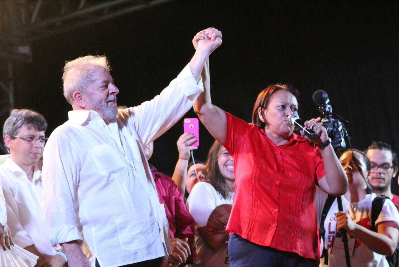 Fátima Bezerra e Lula