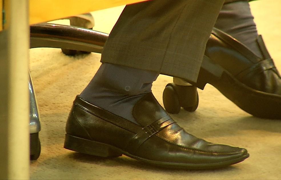 Deputado da tornozeleira
