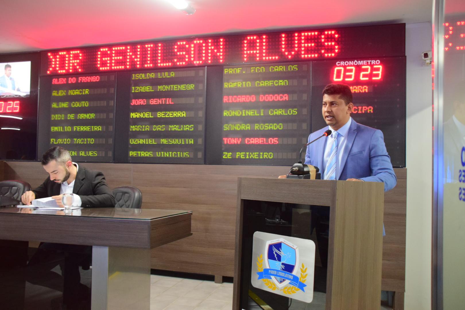 Vereador Genilson Alves - 12 06 18
