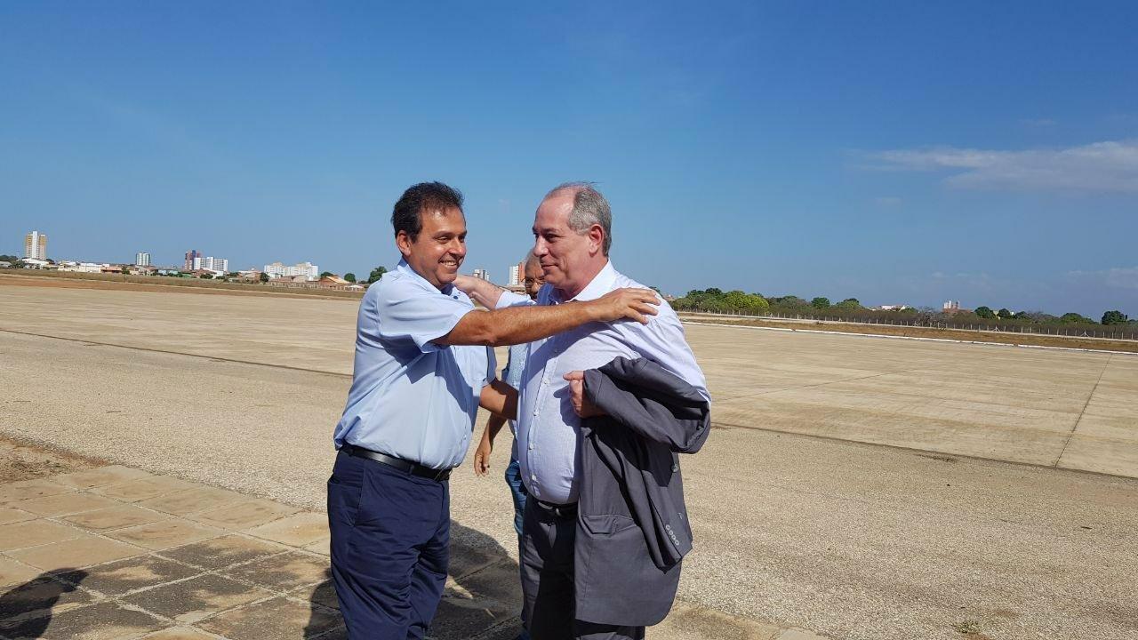Carlos Eduardo esteve pela última vez em Mossoró como mero expectador da palestra de Ciro Gomes