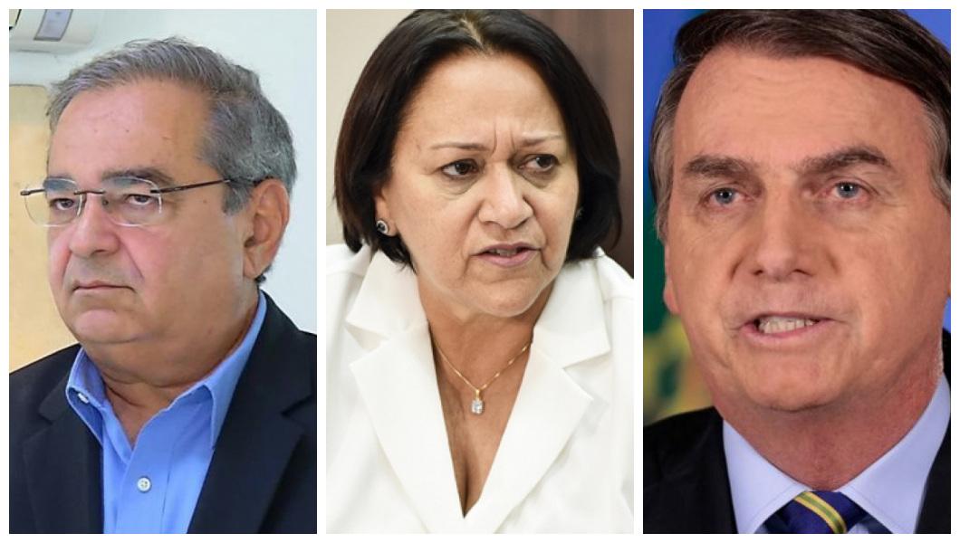Ibope: confira as avaliações de governo de Álvaro Dias, Fátima e Bolsonaro  - Blog do Barreto